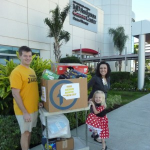 The ministry continues...our 1st delivery to the Proton center after Jaxon's passing.