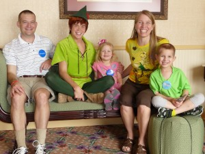 Jaxon's Make A Wish to meet Peter Pan